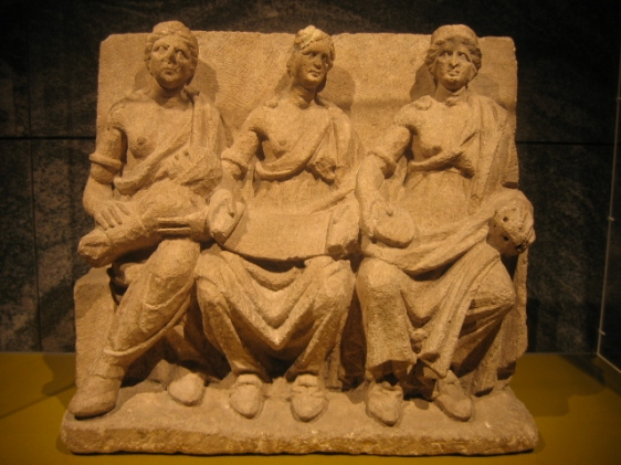 Gaulish Relief of Triple Goddess